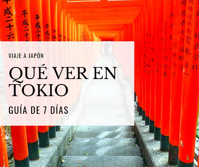 qué ver en Tokio 7 dias