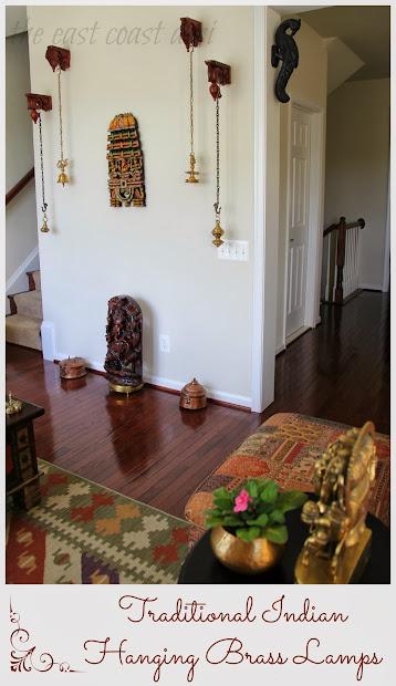 East Coast Desi Living Room Reflection Of India