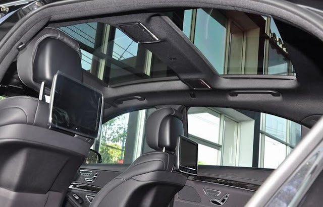Mercedes S450 L Star 2018 trang bị cửa sổ trời siêu rộng Panoramic