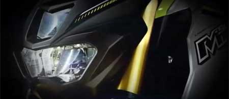 lampu depan Yamaha MT15