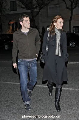 Sara Carbonero and his boyfriend Casillas