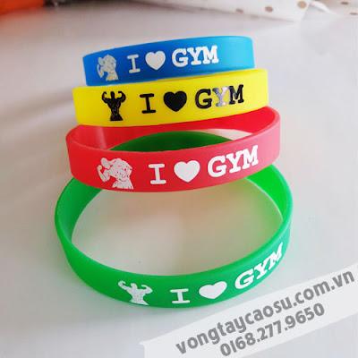 Mẫu vòng tay I Love Gym