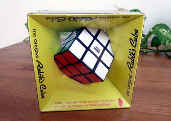 Rubik's Cube new package 1980