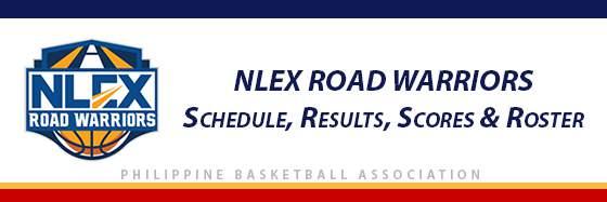 PBA: NLEX Road Warriors Schedule, Results, Scores, Roster