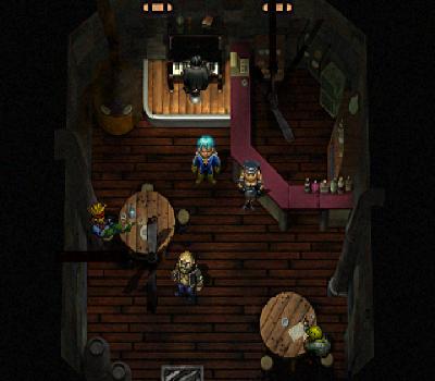 Elemental Gimmick Gear - Dentro del pub