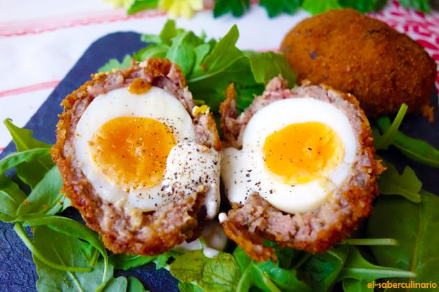Cómo hacer los Huevos Escoceses o huevos a la escocesa