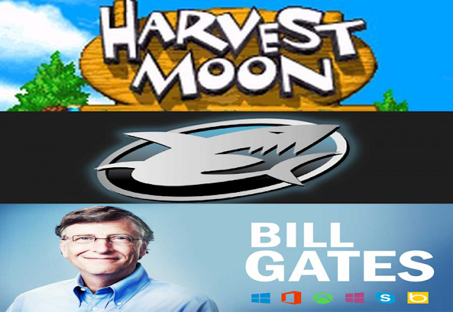 bill gates harvest moon dan gameshark