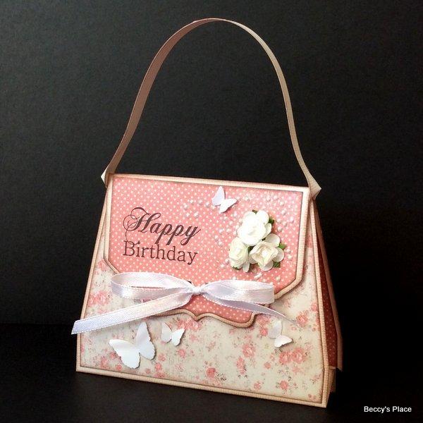 Tutorial Handbag Card