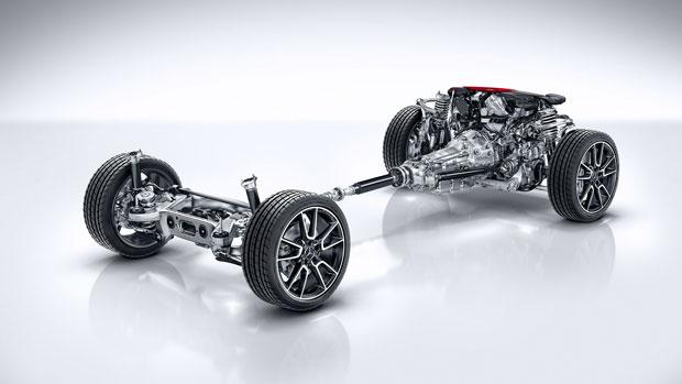 Mercedes AMG C43 4MATIC Coupe 2018 sử dụng động cơ V6 vận hành mạnh mẽ và vượt trội