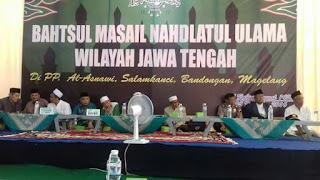 Bahtsul Masail NU Jawa Tengah Haramkan Pemerintah Beri Ijin Usaha Ritel Modern