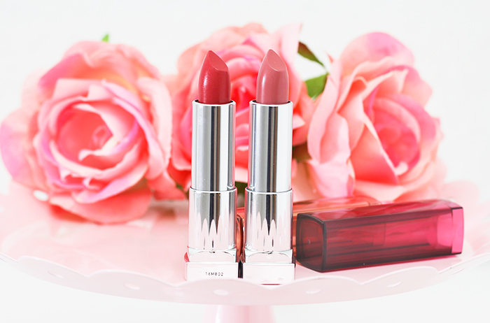 Spring On My Lips: Maybelline Color Sensational The Blushed Nudes Lipsticks