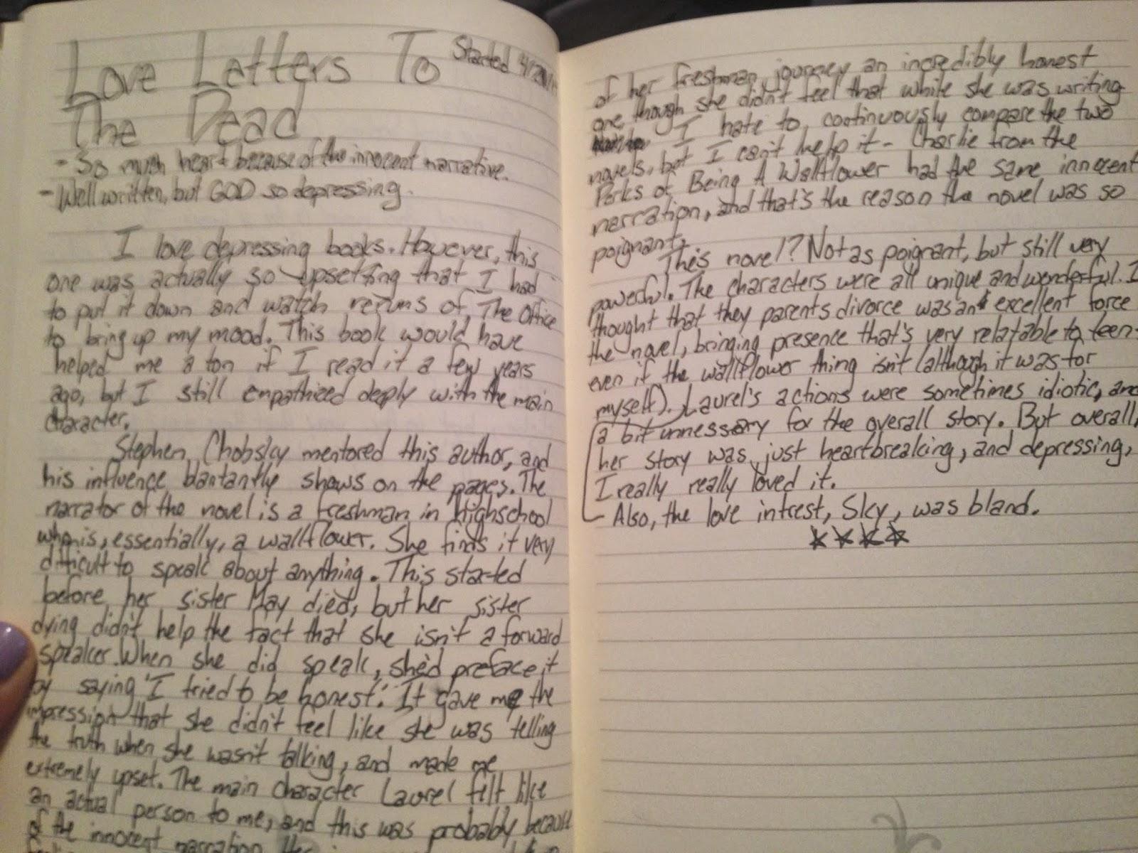 Love Letters To The Dead Ava Dellaira