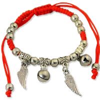 Guardian Angel Red String Bracelet