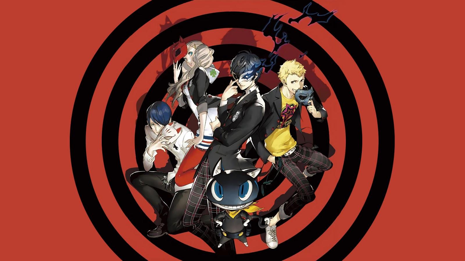 Mangacouncils Persona 5 Hd Wallpaper
