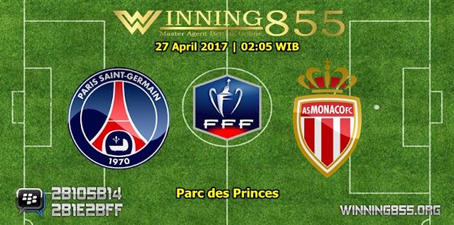 Prediksi Skor PSG vs Monaco 27 April 2017
