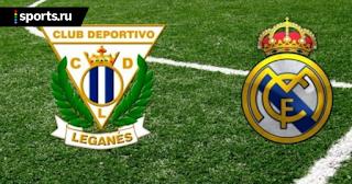 Реал Мадрид – Леганес прямая трансляция онлайн 09/01 в 23:30 по МСК.