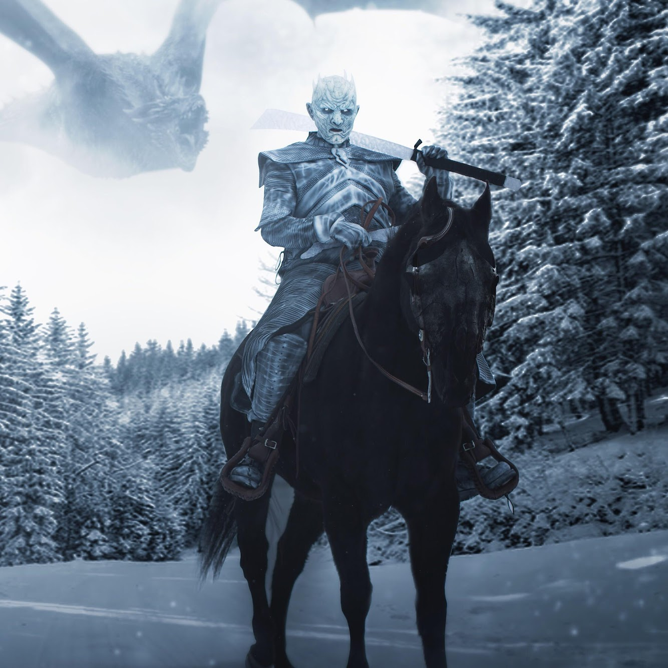 Game Of Thrones The Night King 1 10 Scale: Night King, Game Of Thrones, Season 8, 4K, #66 Wallpaper