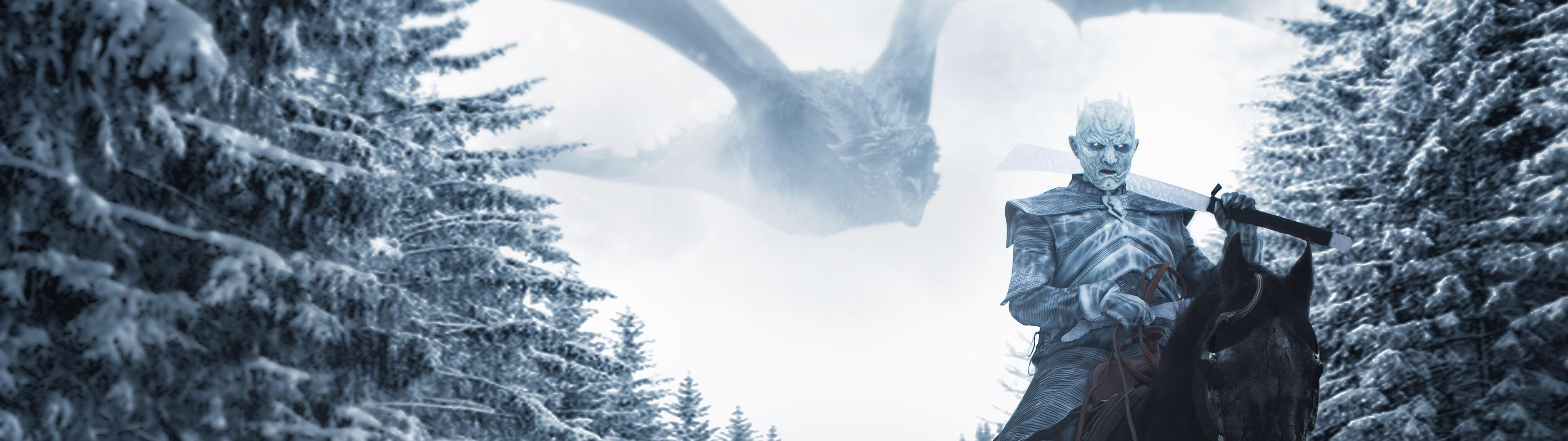 Night King Game Of Thrones Season 8 4k Wallpaper 66