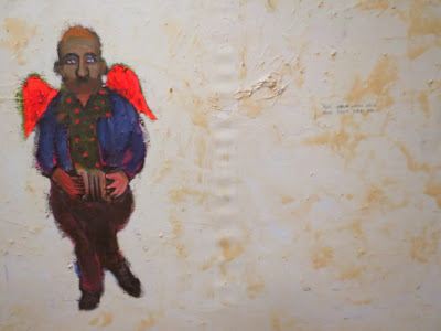 """Владислав Шерешевский, Автопортрет """"Ненужный"""", 1998"""