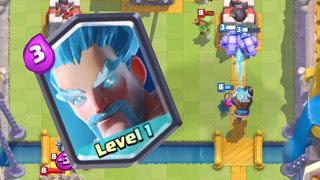 Cara Mudah Mendapat Kartu Legendary Ice Wizard Game Clash Royale