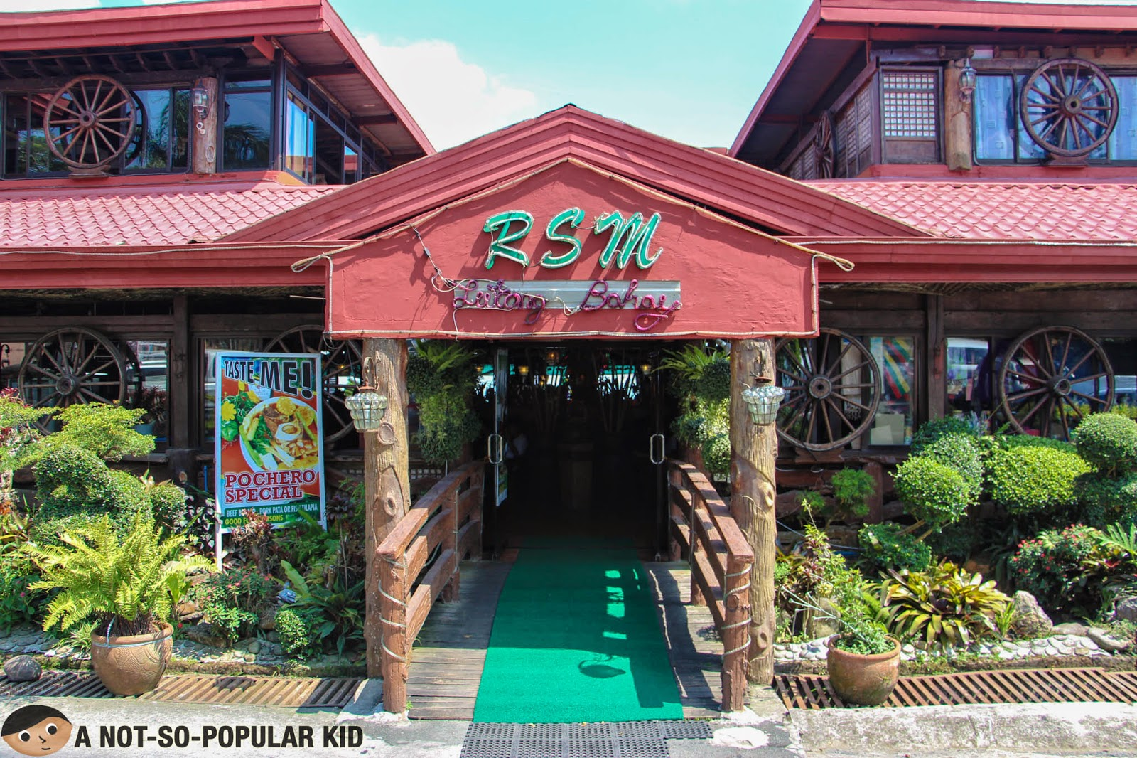 The RSM Lutong Bahay near Taal Volcano in Tagaytay