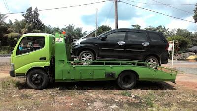 kirim mobil towing