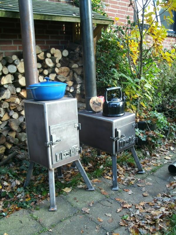 Anderson wood burners stoere buitenkachel op hout model neeltje - Buiten terras model ...