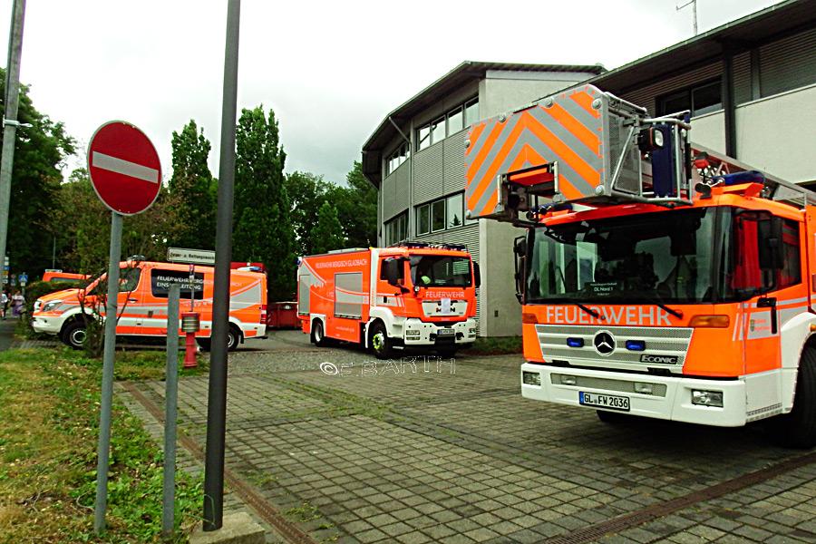 Feuerwehr Gestern Heute Loschzug Paffrath Hand Wird 75