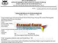 Download Surat Keterangan Pindah Sekolah Format Word Gratis