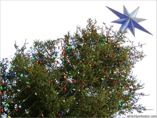Árbol de Navidad Oficial de Boston 2016