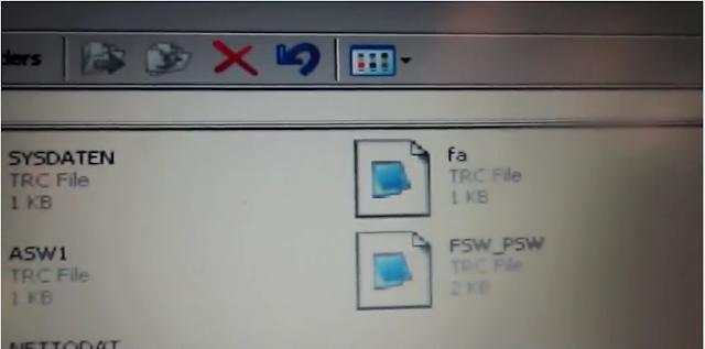 locate FSW-PSW file