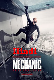 Mechanic: Resurrection (2016) Hindi Dubbed DVDRip 700MB