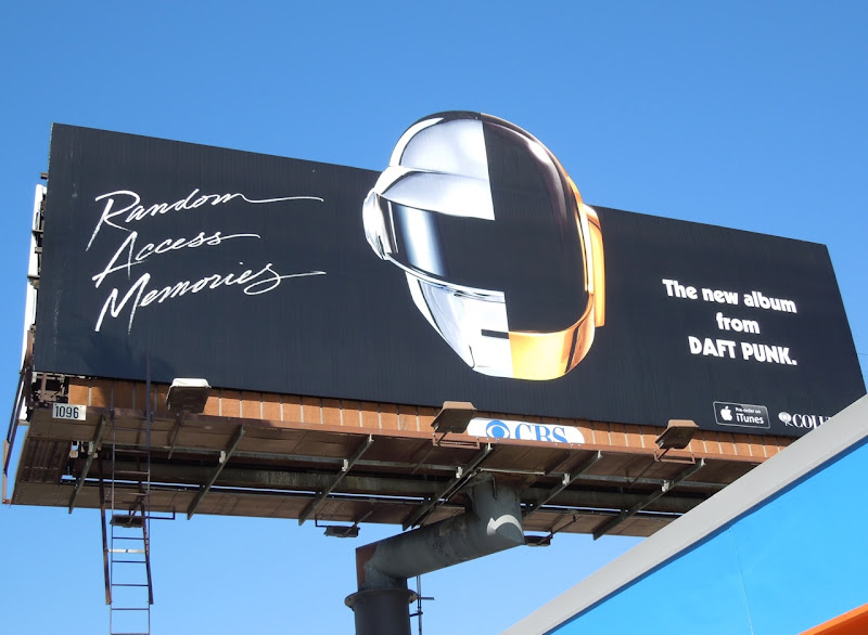Random Access Memories Daft Punk billboard