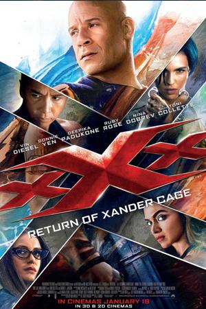 Jadwal XXX: RETURN OF XANDER CAGE di Bioskop