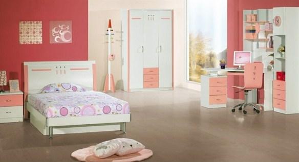 desain kamar tidur minimalis untuk anak perempuan paling elegan