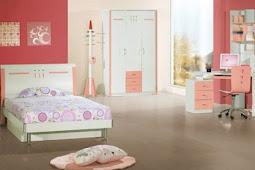 Desain Kamar Tidur Anak Perempuan Paling Elegan