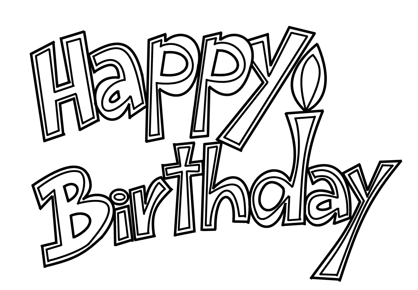 Scribbles designs f 61 happy birthday free