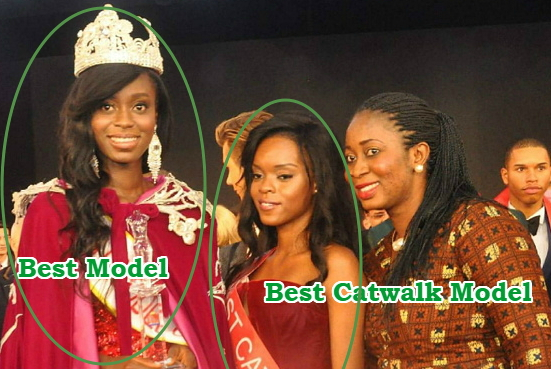 nigerians crowned best model & best catwalk model in the world
