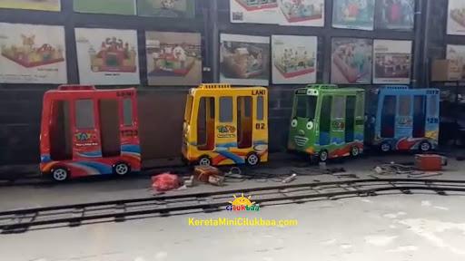 jual mainan, Kereta Mini Fiber Klasik Anak Probolinggo (Jawa Timur) - kereta mini listrik - CV. CILUKBAA