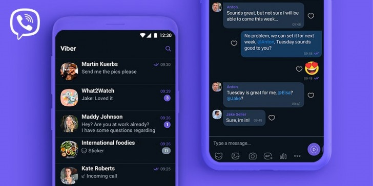 Viber's Dark Mode Now Available on Android