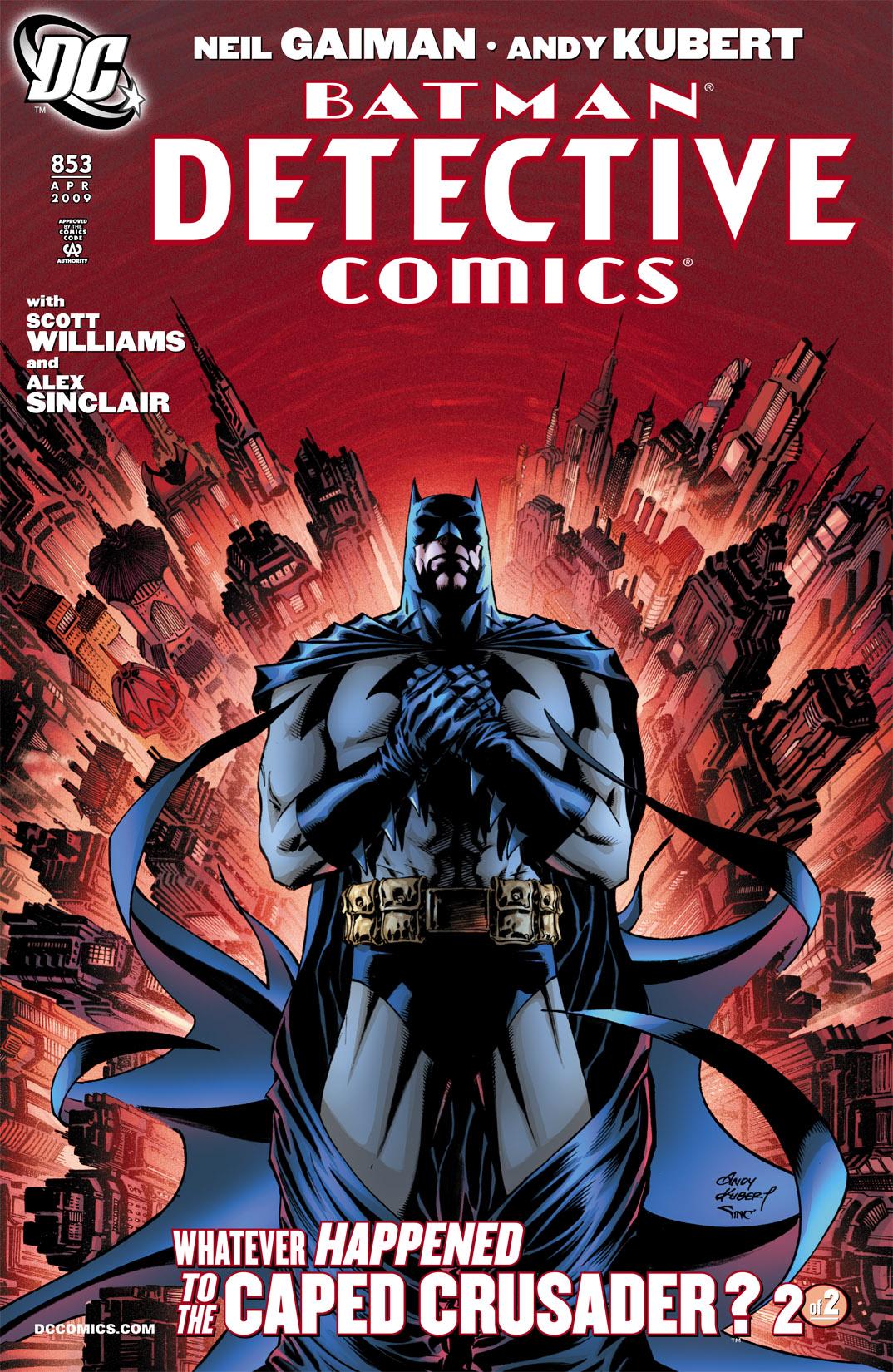 Detective Comics (1937) 853 Page 1