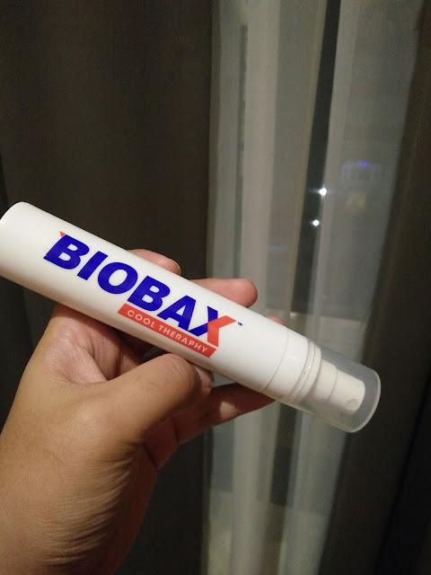Biobax Cool Theraphy Spray, hilangkan lenguh dengan Biobax Cool Theraphy, penawar lenguh badan, tips hilangkan sakit belakang, kebaikan Biobax Cool Theraphy