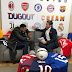 How D'banj Happily Signs A Deal With Dugout In London