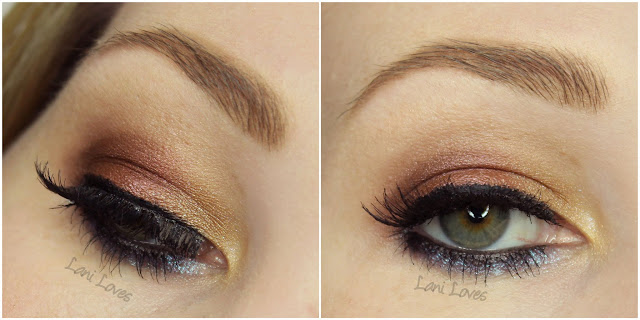 Darling Girl Eyeshadows - Lasso of Truth, Bob-B-Q and Fira Swatches & Review