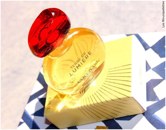 Contenu Birchbox novembre 2017 - Parfum Terre de Lumière L'Occitane en Provence - Blog beauté