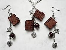 Polymer clay jewelry set by WindySunset