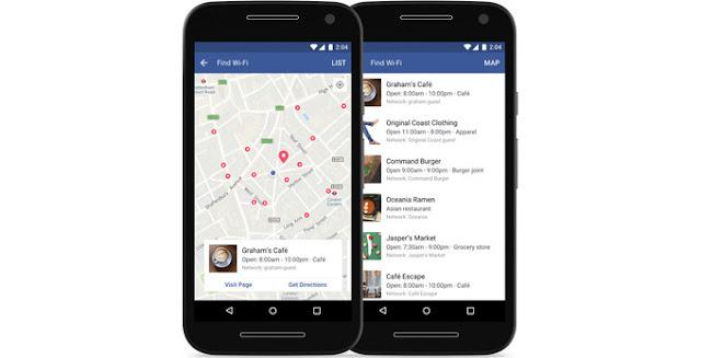Facebook rilis fitur Find Wi-Fi (wifi gratis) secara global untuk Android dan Apple