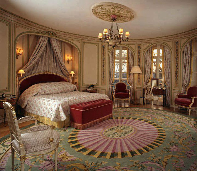 Modern curtain designs ideas 2016 for Mediterranean classic bedroom