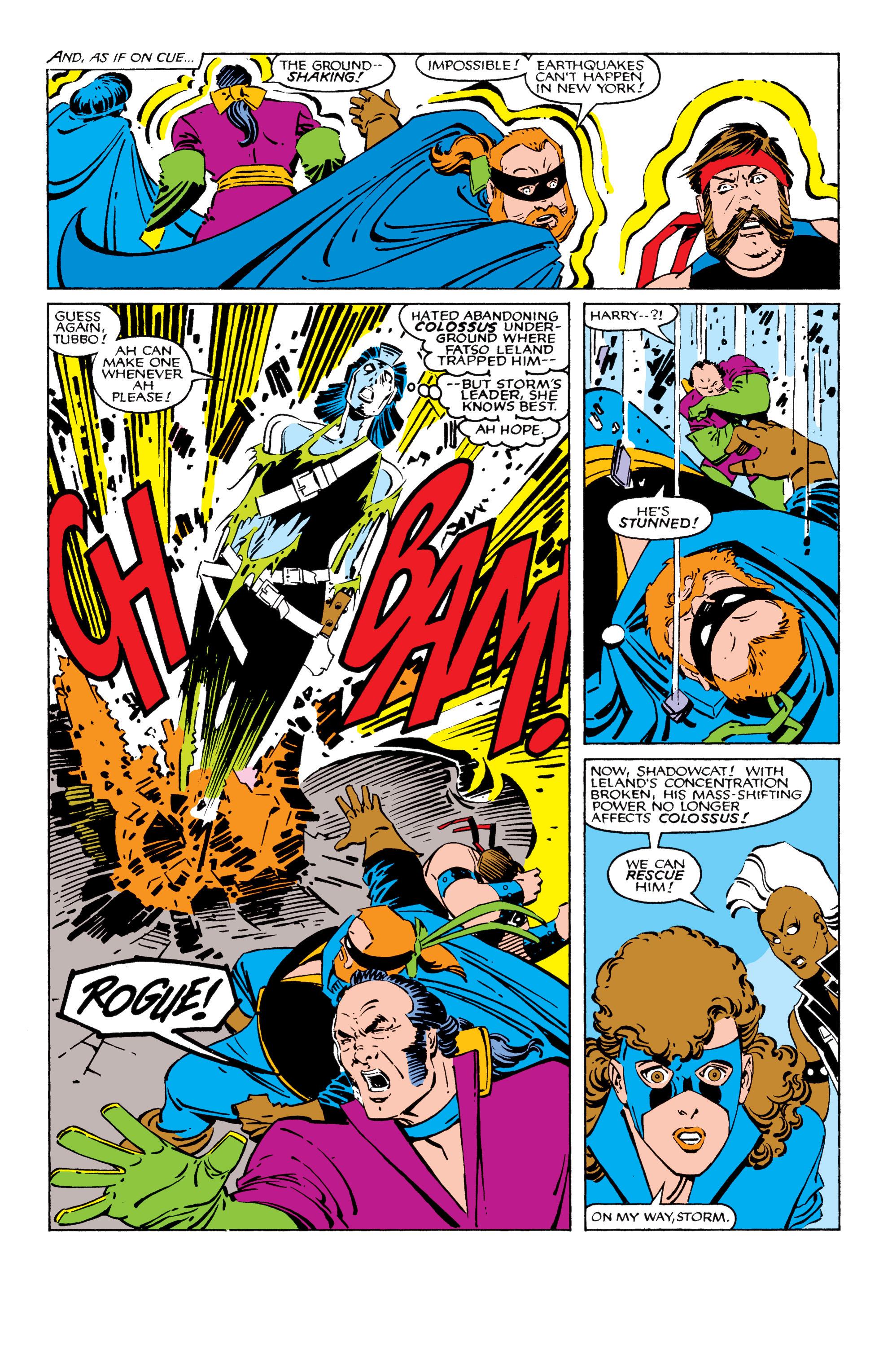 Read online Uncanny X-Men (1963) comic -  Issue #209 - 5