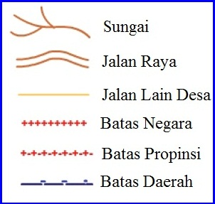 Simbol Garis Peta